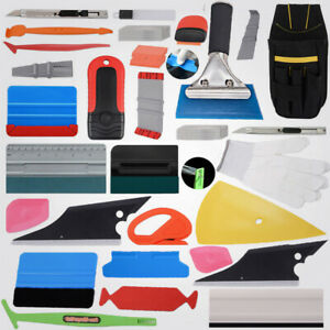 Car Wrapping Application Kit Vinyl Graphic Squeegee 4 Magnets Gasket Wrap Razor