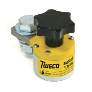 Tweco 9255 1061 Switchable Magnetic Ground Welding Clamp 300 amp