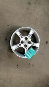 Wheel 15x6 Alloy 5 Notched Spokes Fits 02 03 Mazda Protege 929430