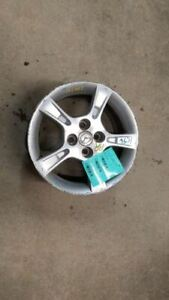 Wheel 15x6 Alloy 5 Notched Spokes Fits 02 03 Mazda Protege 929419