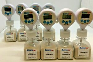 Lot Of 8 Thermco Ambient Thermometer Used