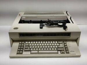 Vintage Ibm Wheelwriter 6 Series Ii 6784 Electronic Typewriter tested Working