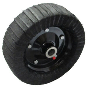 10 X 3 25 Finish Mower Wheel solid Molded Tire Fits 1 Axle