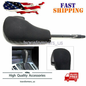 Carbon Fiber Automatic Gear Shift Knob Shifter For Bmw E46 E39 E36 E60 E61 E38