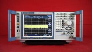 Rohde And Schwarz Fsv7 Signal Source Analyzer 10hz To 7ghz