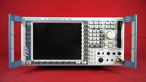 Rohde And Schwarz Fsp3 b25 100819 Spectrum Analyzer 9 Khz To 3 Ghz