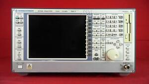 Rohde And Schwarz Fsig3 Signal Analyzer 9 Khz 3 5 Ghz