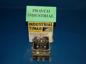 Industrial Timer J1842 1m Timer 0 60 Seconds 115 Volt 60 Cycles 15 Watts J18421m