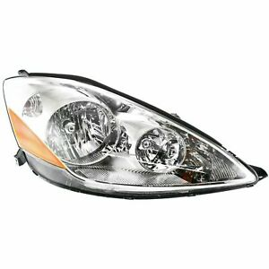 New Halogen Headlight Assembly Fits Toyota Sienna 2006 2010 Right Side To2503172
