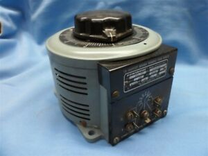 Superior Powerstat 126 Variac Variable Autotransformer 120v 15 Amp 2 1 Kva