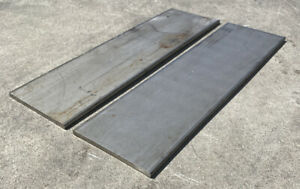 2 Pieces 1 4 Thickness 316 316l Stainless Steel Flat Bar 0 25 X 4 X 14