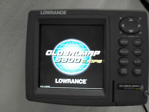 LOWRANCE GLOBALMAP 5300C iGPS Fish Finder(GPS in inside)