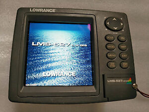 LOWRANCE LMS-527c DF Fish Finder(GPS in inside)