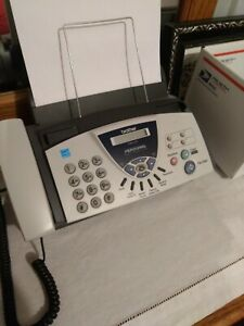 Brother Fax 575 Personal Plain Paper Fax Phone And Copier Used