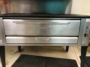 A Blodgett Stainless Steel Pizza Oven