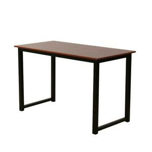 Modern Concise Wooden Computer Desk Home Office Furniture 47 24 29 Brown Color