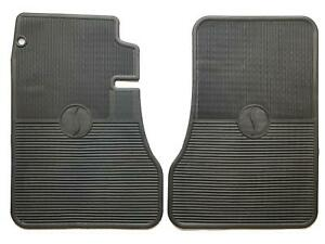 Studebaker Avanti 1963 1985 Oem Design Front Floor Mats Pair Black New Item