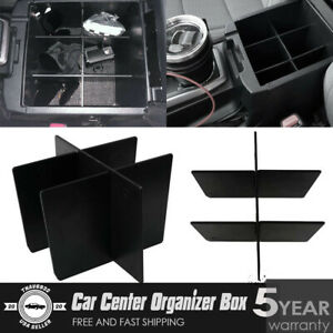 New Abs Tray Insert Center Console Organizer Car Box For 2016 2019 Toyota Tacoma