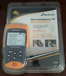 Actron Cp9690 Elite Auto Scanner Kit Enhanced Obd I Obd Ii Scan Tool New