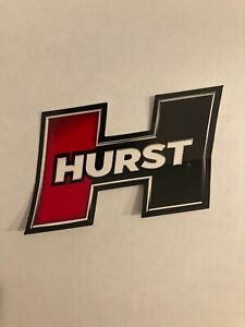 Authentic Oe Hurst Decal Sticker 3 X 4