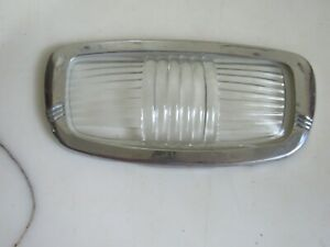 Vintage 1946 1954 Plymouth Car Interior Dome Light Lens Bezel
