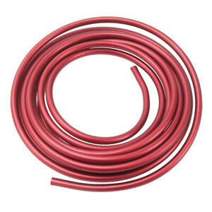 Russell 3 8 Aluminum Fuel Line 25ft Red Anodized 639260