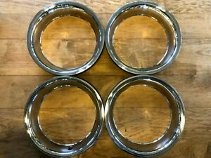 1975 1982 Corvette Rally Wheel Trim Rings Set Of 4