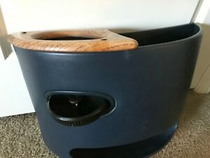 97 14 Ford Econoline Van Blue Center Console Cup Holder With Wood Finish