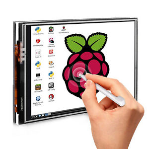 3 5 Inch Display Touch Screen Lcd Monitor Case touch Pen For Raspberry Pi 4b