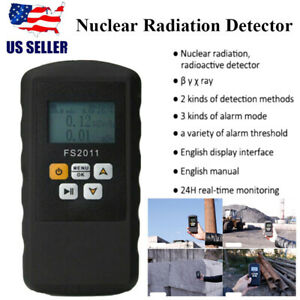 Nuclear Radiation Detector Gamma Beta X ray Tester Meter Geiger Counter Smart
