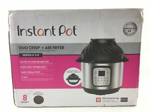 read Instant Pot Duo Crisp 8qt Digital Multi Cooker With Air Fryer Stainless