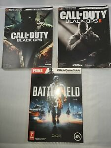 Call Of Duty Black Ops and Battlefield 3 Lot Of Books $15.99