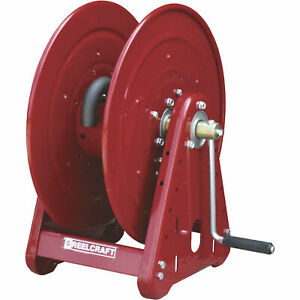 Reelcraft Pressure Washer Hose Reel 5000 Psi 3 8in X 140ft Capacity Ca38106 M