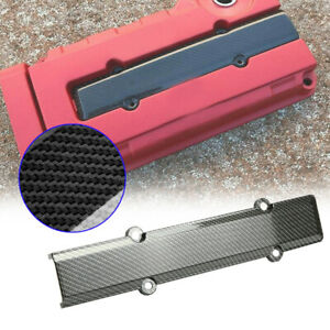Engine Plug Cover B Series Carbon Fiber Style Fit For Honda Civic B16 B18
