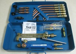 Saf Fixal 02 Oxy acet Welding And Cutting Torch Set Oxygen Acetylene