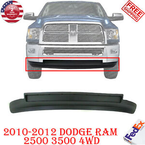 Front Bumper Lower Valance Air Dam Txtd For 2010 2012 Dodge Ram 2500 3500 4wd