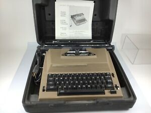 Sears Electric Portable Typewriter 161 53620 With Good Case 358 Tested