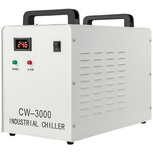 Us Stock Cw 3000 Industrial Water Chiller For 60w 80w Laser Engraving Machine