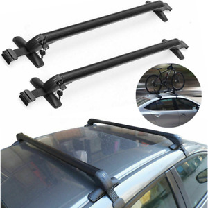 43 3 Universal Top Luggage Roof Rack Cross Bar Carrier Adjustable Window Frame
