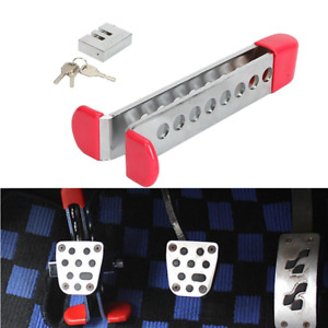 1pcs Brake Pedal Lock Security Car Auto Stainless Steel Clutch Lock Anti theft