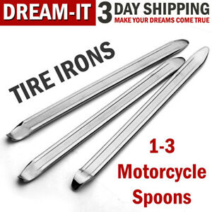 Motorcycle Spoon Tire Irons Lever Tools Iron Tire Changing Repair Kit Rim Bike