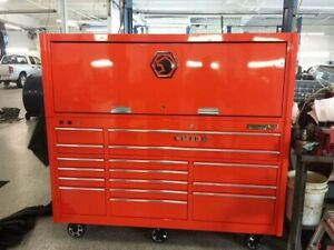 Orange Matco 4s Tool Box Used But Good Condition