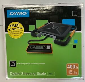 Dymo S400 Digital Usb Shipping Scale 400 Lb 181 Kg Maximum Weight New