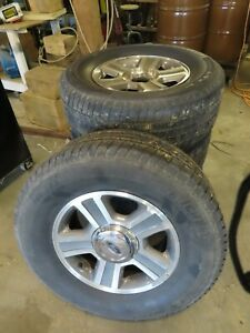 Ford F150 Wheels And Tires 17 Inch Off Of 06 F150 Comes With Centers 5 32 Tread