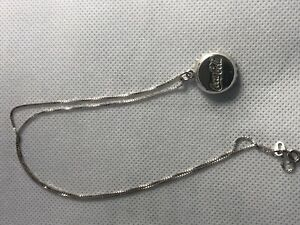 Coca-Cola .928 pure Silver Bottlecap Necklace