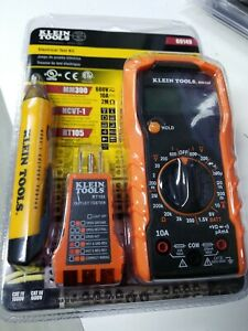Klein Tools 69149 Electrical Test Kit Brand New Sealed