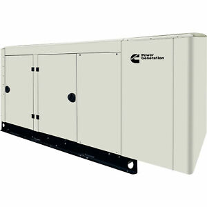 Cummins Commercial Standby Generator 60 Kw Lp ng 120 208v 3 phase Model Rs50