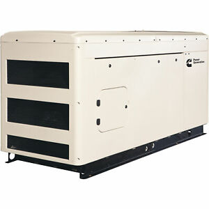 Cummins Commercial Standby Generator 36 Kw Lp ng 120 240v Single phase Rs36