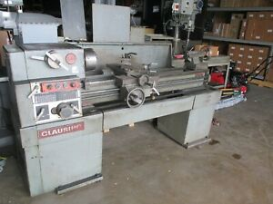 Clausing Model 1401 Lathe With 15 Swing X 48 Centers 1 1 2 Spindle Hole