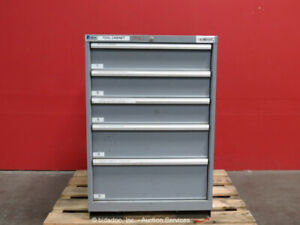 Lista 5 drawer Tool Cabinet Shop Storage Box W mill Milling Tooling Bidadoo